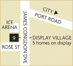 Dsiplay map Mile End