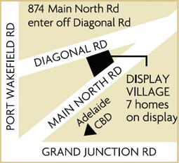Dsiplay map Pooraka
