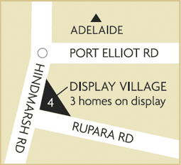 Dsiplay map Victor Harbor
