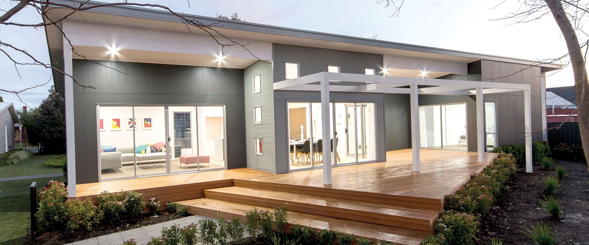 Sarah homes for 9m narrow block house designs